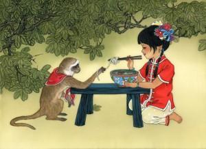 Китайский год Обезьяны