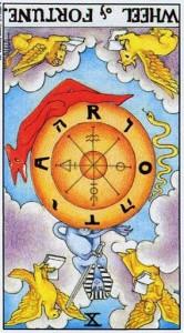 Толкование карты Таро «Фортуна» - Старший Аркан