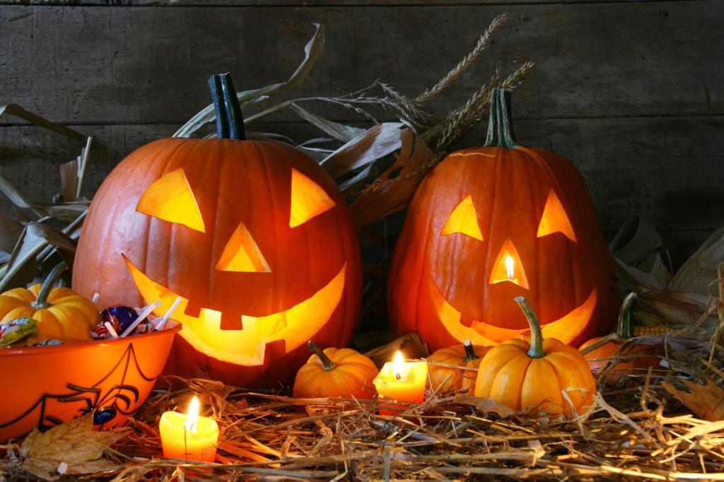 Хэллоуин, под ширмой черной магии