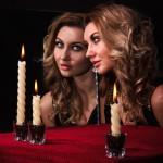 Гадание на суженного с помощью зеркала