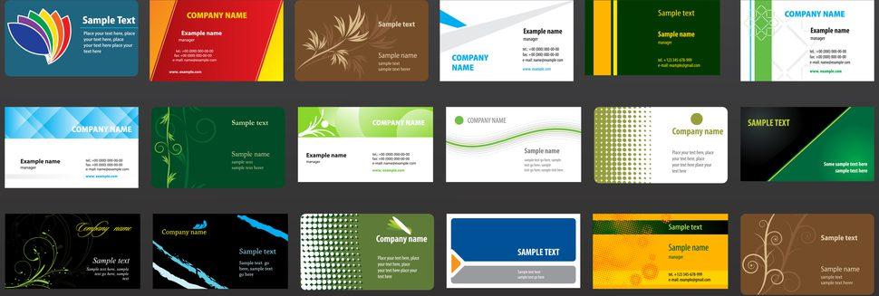 Дизайн визитки по фэн шуй