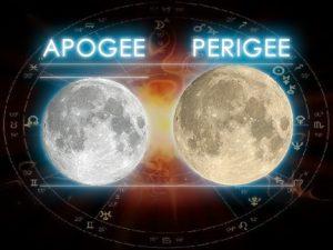 Апогей и перигей Луны: рекомендации для использования лунных энергий этих событий