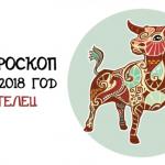 Гороскоп на 2018 год: знак зодиака Телец