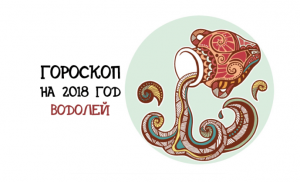 Гороскоп на 2018 год: знак зодиака Водолей