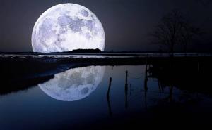 полнолуние, полная луна